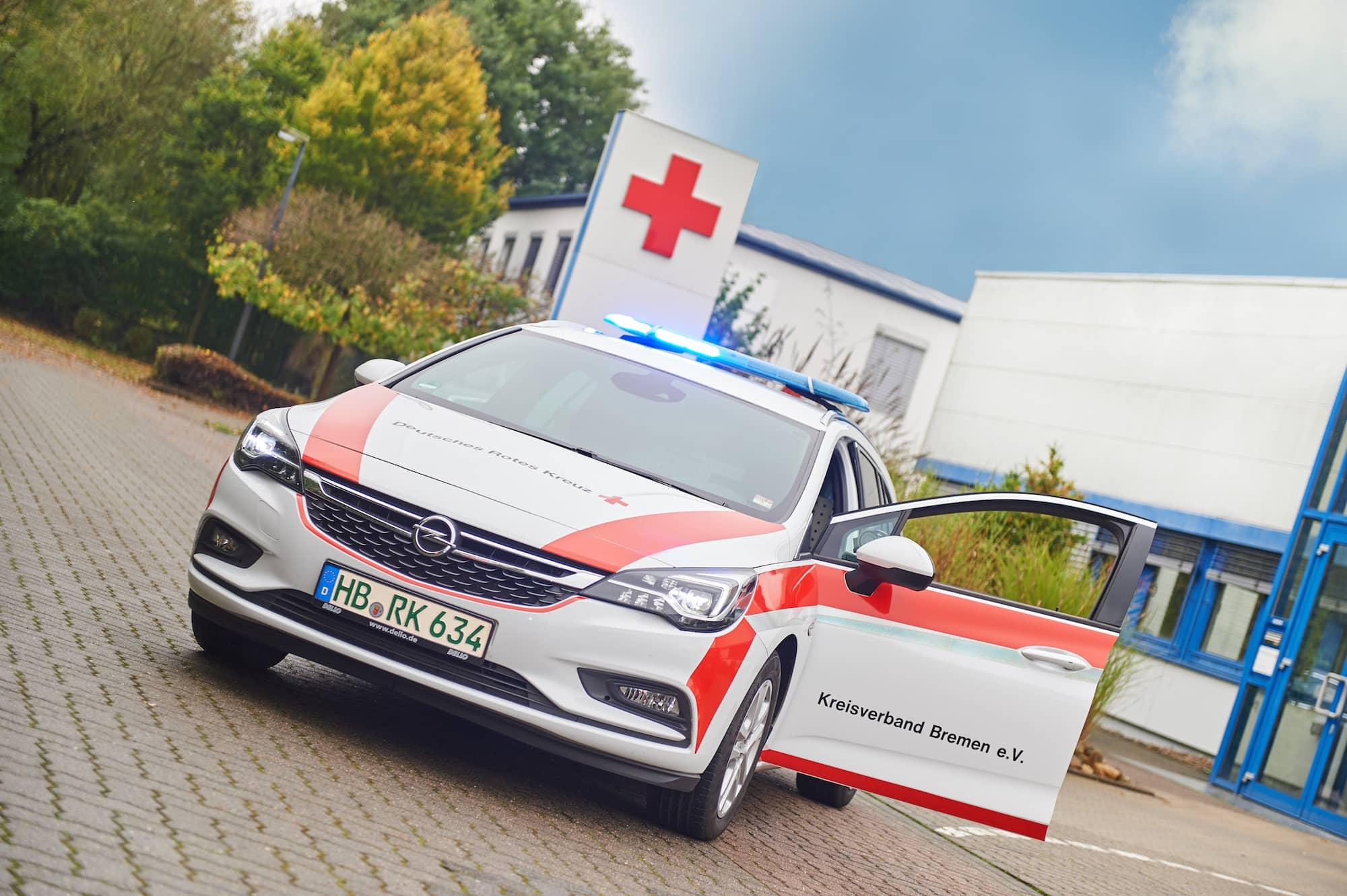 Deutsches rotes Kreuz Bremen Blutfahrdienst