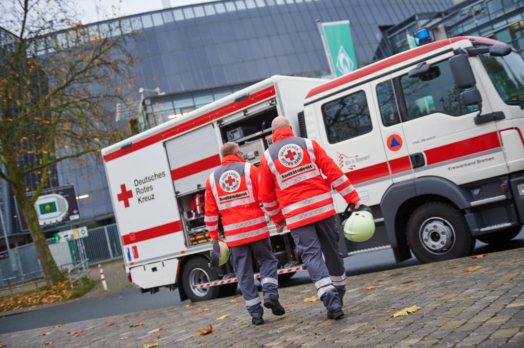 Deutsches rotes Kreuz Bremen Katastrophenschutz