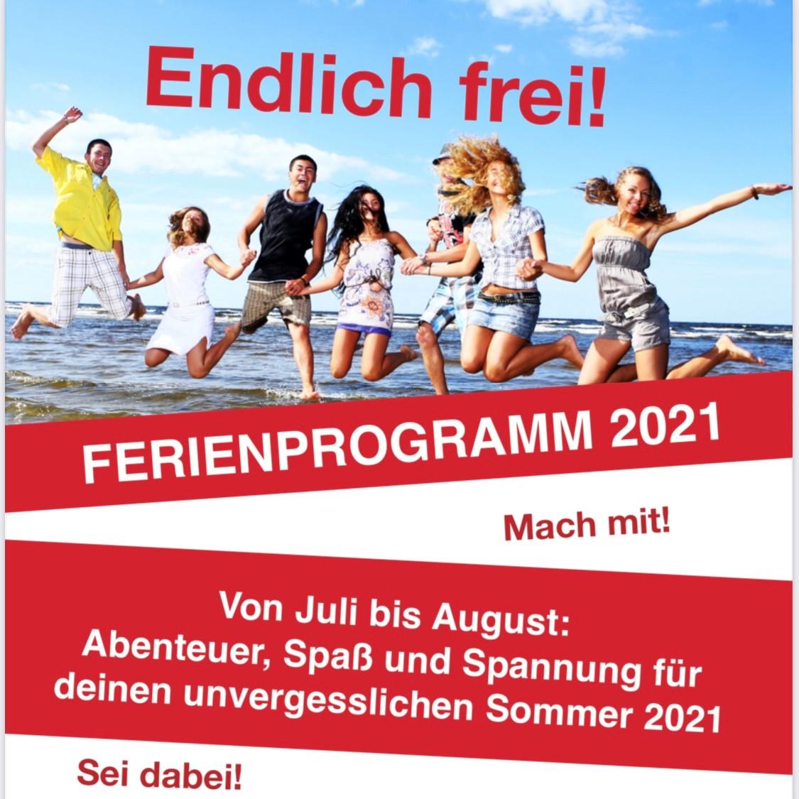 Ferien-1 Sommerferienprogramme unserer Jugendfreizeitheime