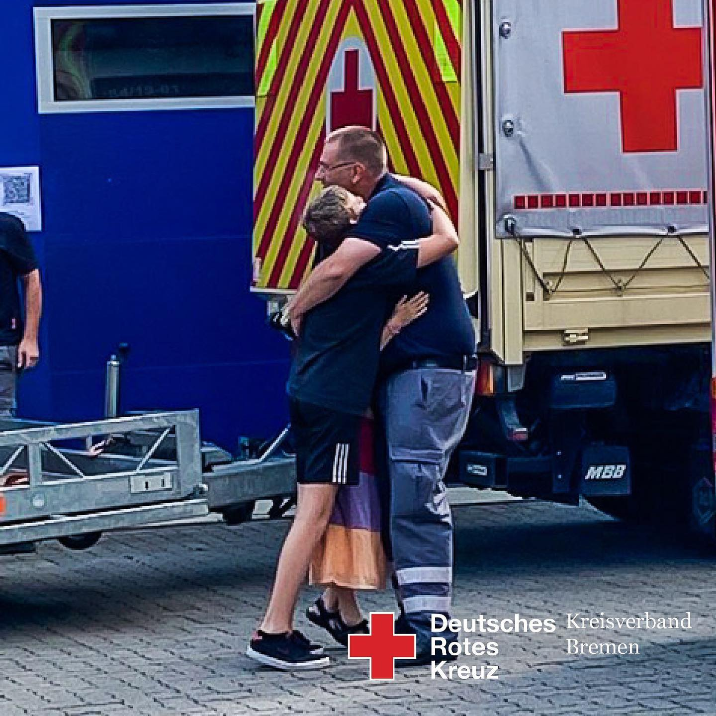 HW21 Hochwasserhilfe aus Bremen - Helfer wieder zu Hause