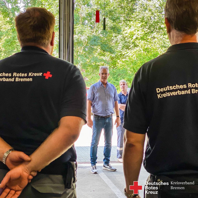 HW22 Hochwasserhilfe aus Bremen - Helfer wieder zu Hause