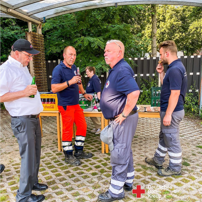HW23 Hochwasserhilfe aus Bremen - Helfer wieder zu Hause