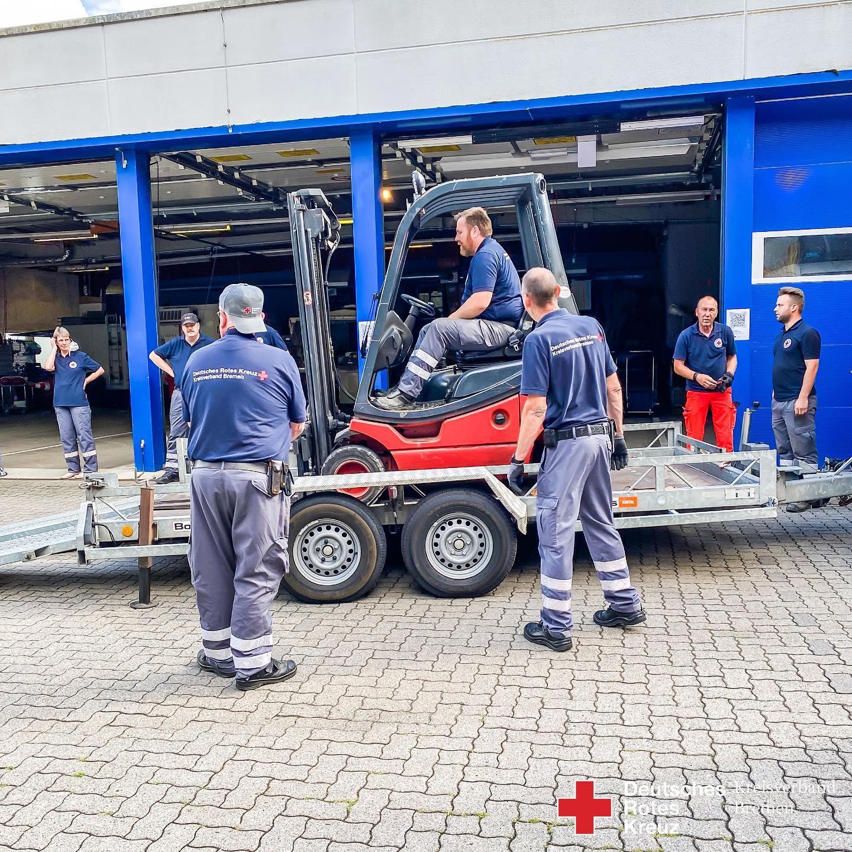 HW24 Hochwasserhilfe aus Bremen - Helfer wieder zu Hause