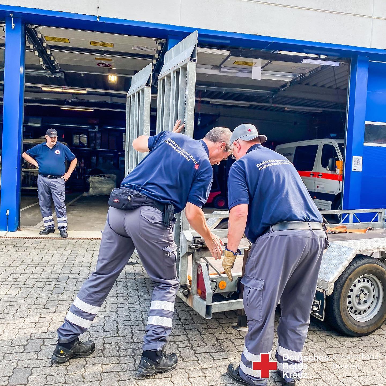 HW25 Hochwasserhilfe aus Bremen - Helfer wieder zu Hause