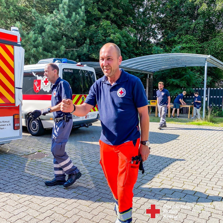 HW26 Hochwasserhilfe aus Bremen - Helfer wieder zu Hause