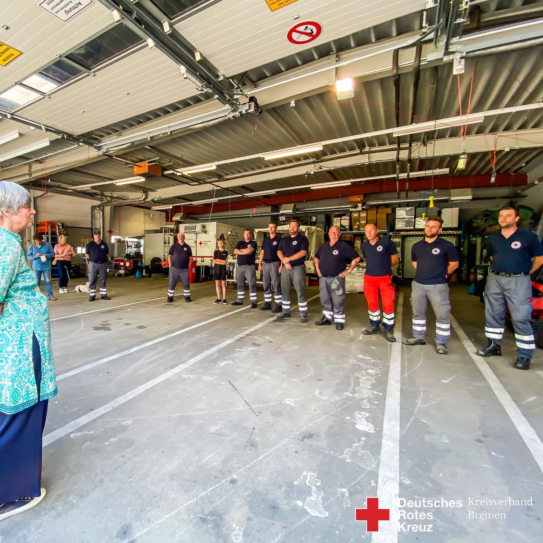HW27 Hochwasserhilfe aus Bremen - Helfer wieder zu Hause