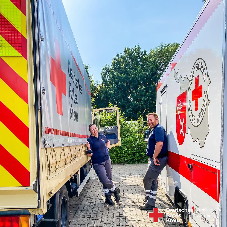 HW28 Hochwasserhilfe aus Bremen - Helfer wieder zu Hause